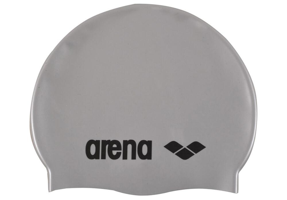 arena classic silicone bonnet de bain gris argent boutique de v los en ligne. Black Bedroom Furniture Sets. Home Design Ideas