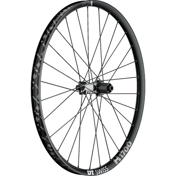 "DT Swiss H 1700 Spline Rear Wheel 29"" Hybrid Boost black"