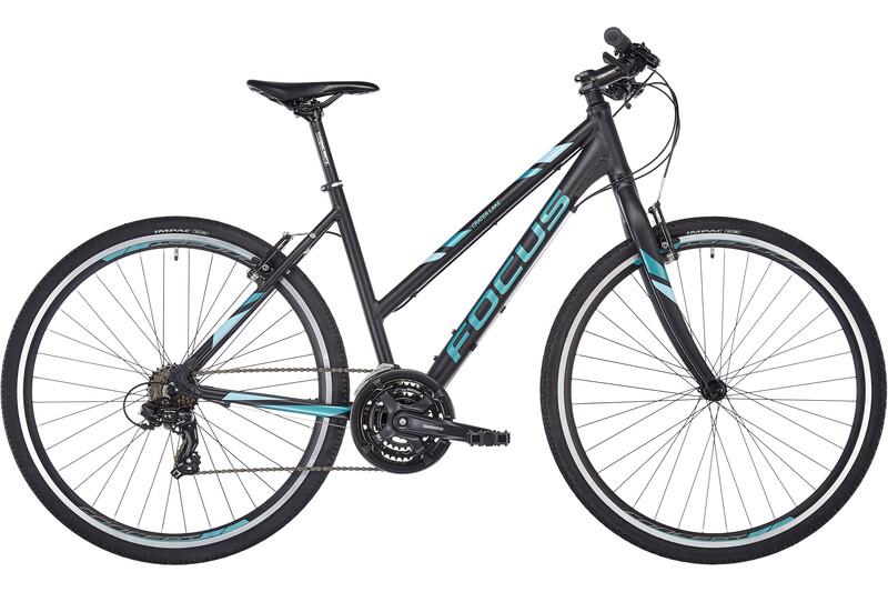 FOCUS Crater Lake Elite Trapez magic black matt Crossräder Damen 625019386