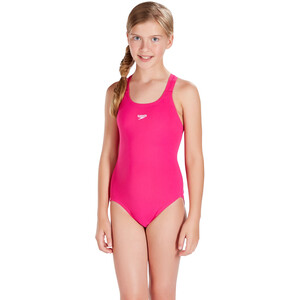 speedo Essential Endurance+ Medalist Swimsuit Flickor electric pink electric pink