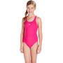 speedo Essential Endurance+ Medalist Badeanzug Mädchen electric pink