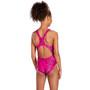 speedo Boom Allover Splashback Badeanzug Mädchen electric pink/black