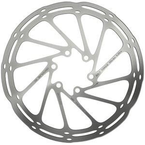 SRAM Centerline Rounded Bremsscheibe einteilig silber silber