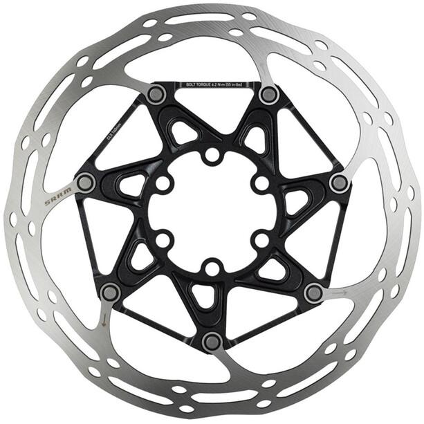 SRAM Centerline Rounded Bremsscheibe zweiteilig silber/schwarz