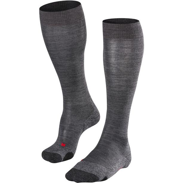 Falke TK 2 Lange Socken Damen asphalt melange