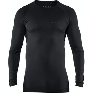 Falke Maximum Warm Comfort Langarmshirt Herren black black