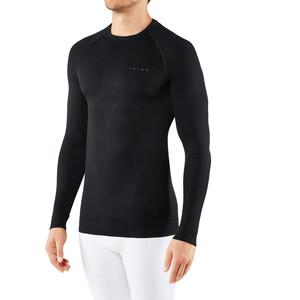Falke Maximum Warm Tight Fit Langarmshirt Herren black black