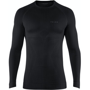 Falke Maximum Warm Tight Fit Langarmshirt Herren schwarz schwarz