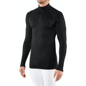 Falke Maximum Warm Tight Fit Zip Shirt Herren black black