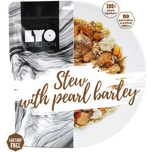 Lyofood Pork Stew Big Pack 112g Pearl Barley