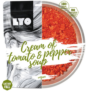 Lyofood Cream of Tomato and Pepper Soup 370g