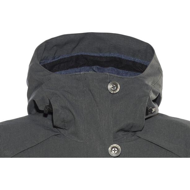 Bergans Bjerke 3in1 Mantel Damen outer:solid charcoal/inner:night blue