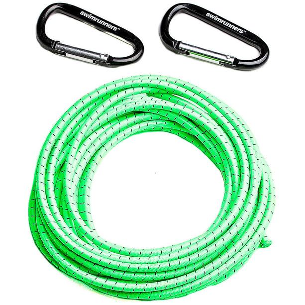 Swimrunners Support Pull Belt Cord DIY 5m neon green