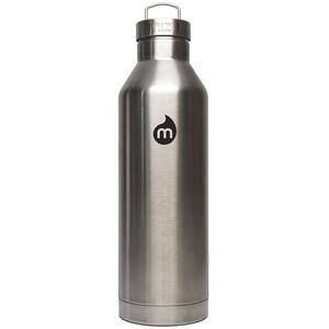 MIZU V8 Isolierte Flasche mit Edelstahl Deckel 750ml Stainless Stainless