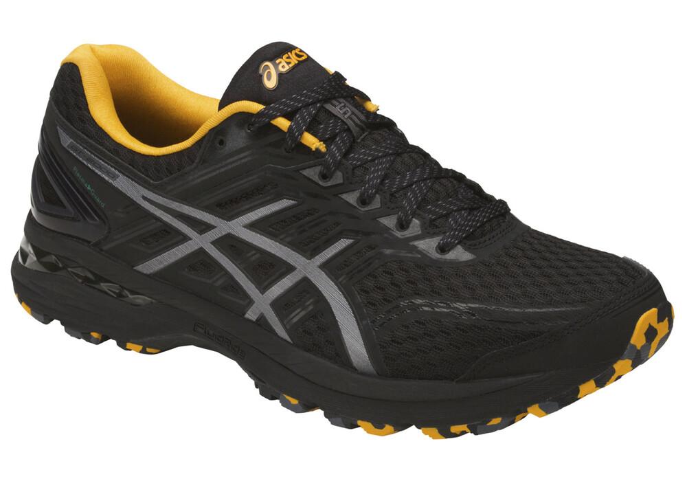 asics gt 2000 5 trail plasmaguard chaussures de running homme gris noir boutique de v los. Black Bedroom Furniture Sets. Home Design Ideas