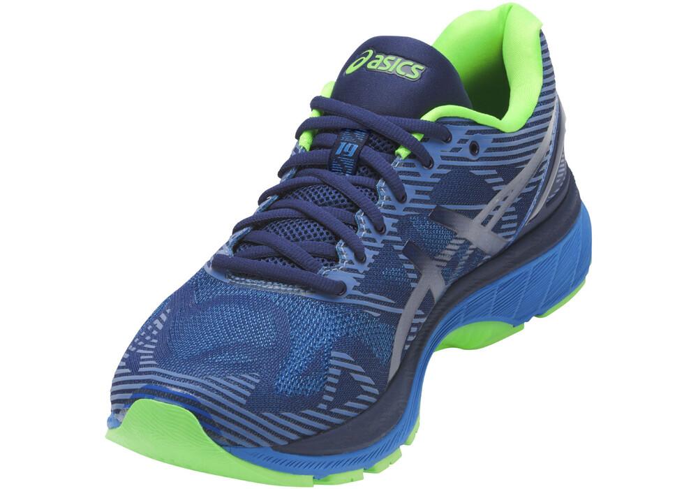 asics gel nimbus 19 lite show zapatillas para correr hombre azul. Black Bedroom Furniture Sets. Home Design Ideas