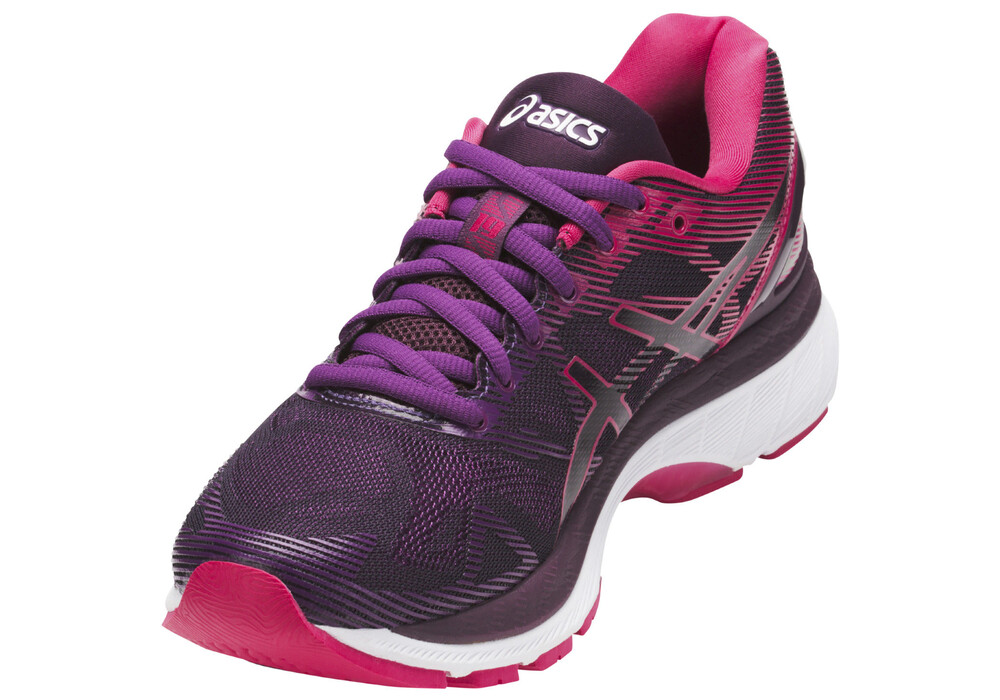 asics gel nimbus 19 chaussures de running femme rose violet boutique de v los en ligne. Black Bedroom Furniture Sets. Home Design Ideas