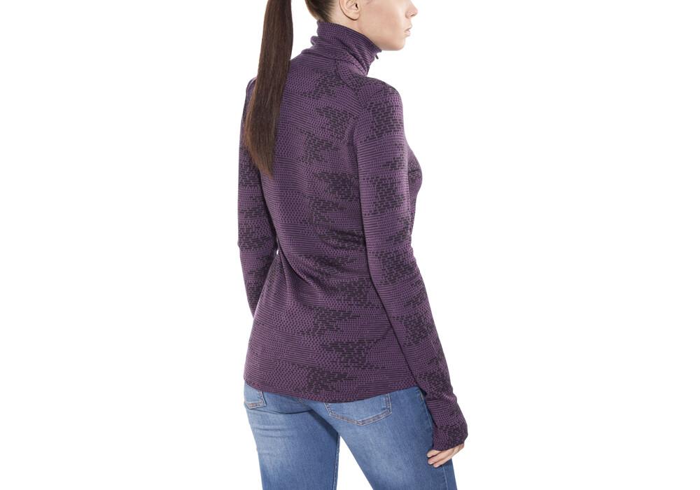 icebreaker vertex sous v tement femme violet boutique de v los en ligne. Black Bedroom Furniture Sets. Home Design Ideas