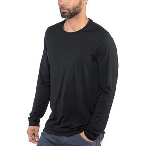 Icebreaker Tech Lite Langarm Rundhalsshirt Herren black black
