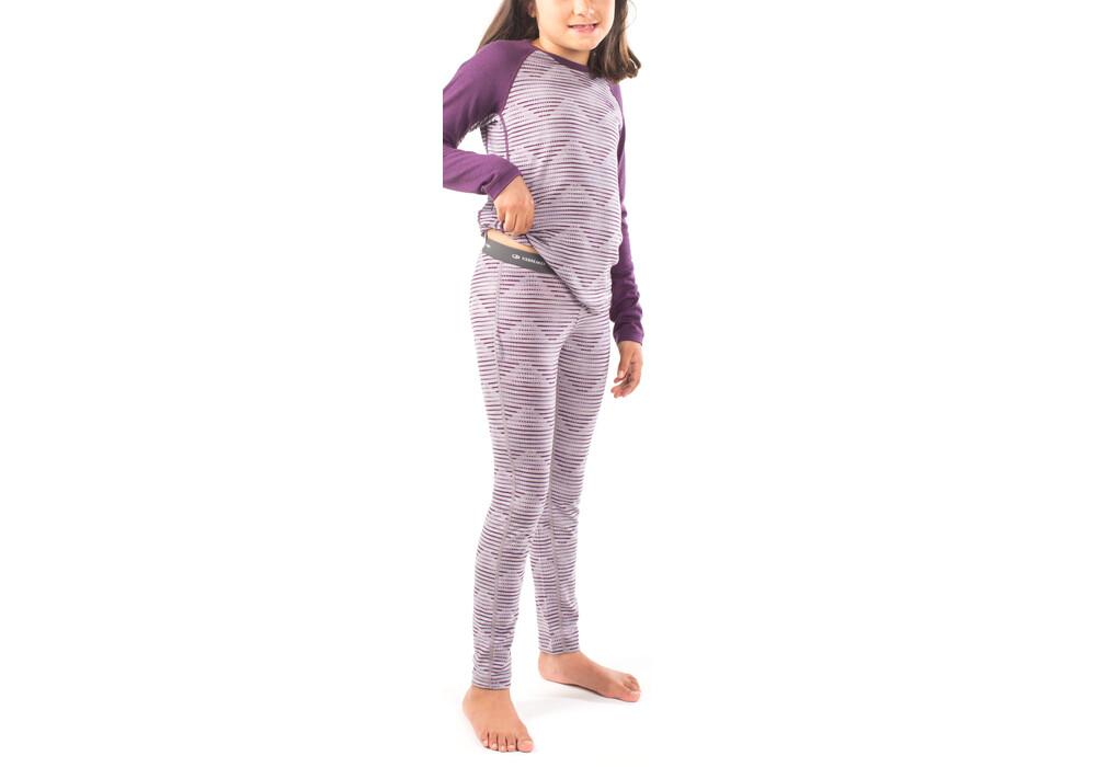 icebreaker oasis sous v tement enfant violet. Black Bedroom Furniture Sets. Home Design Ideas