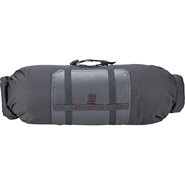 Acepac Bar Roll Tasche grau/rot