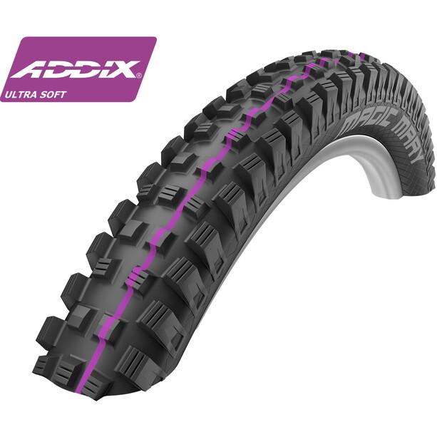 """SCHWALBE Magic Mary Clincher Tyre 26"""" Addix UltraSoft Downhill"""