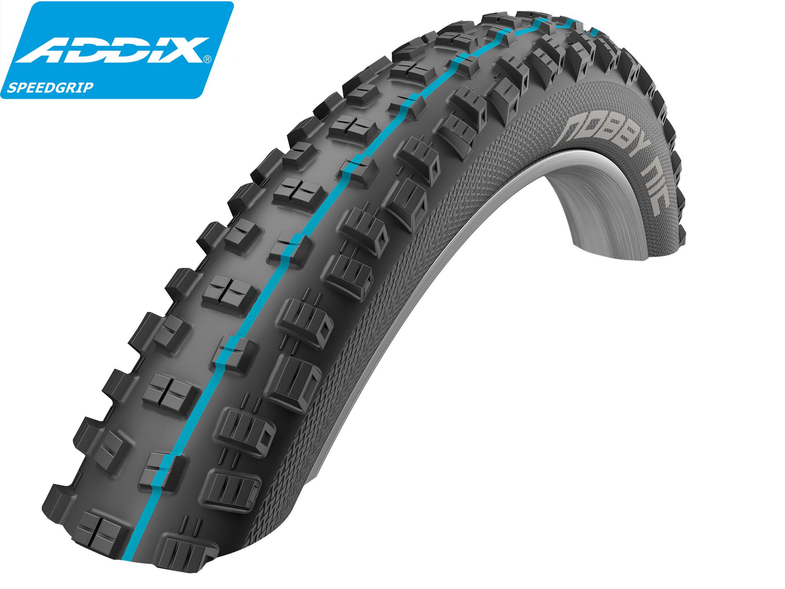 Schwalbe Nobby Nic Folding Tyre Apex Addix SpeedGrip TL-Easy SS