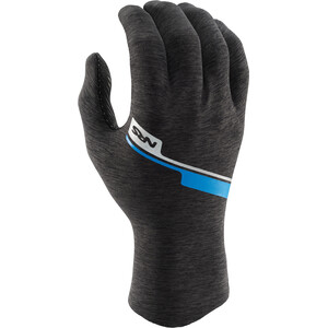 NRS HydroSkin Gloves gray heather gray heather