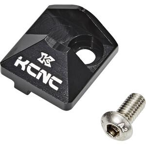 KCNC Umwerfersockel Abdeckung inkl. Flaschenöffner schwarz schwarz