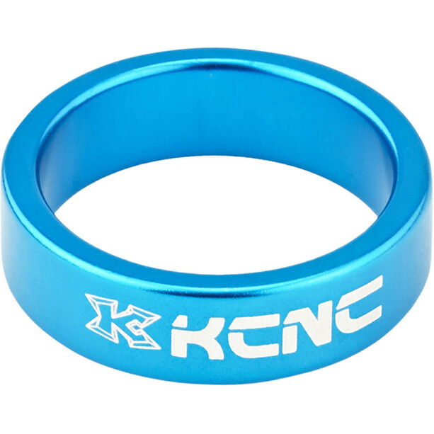 "KCNC Headset Spacer 1 1/8"" 10mm blue"