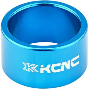 """KCNC Headset Spacer 1 1/8"""" 20mm, azul azul"""
