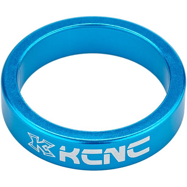 "KCNC Headset Spacer 1 1/8"" 8mm blau"