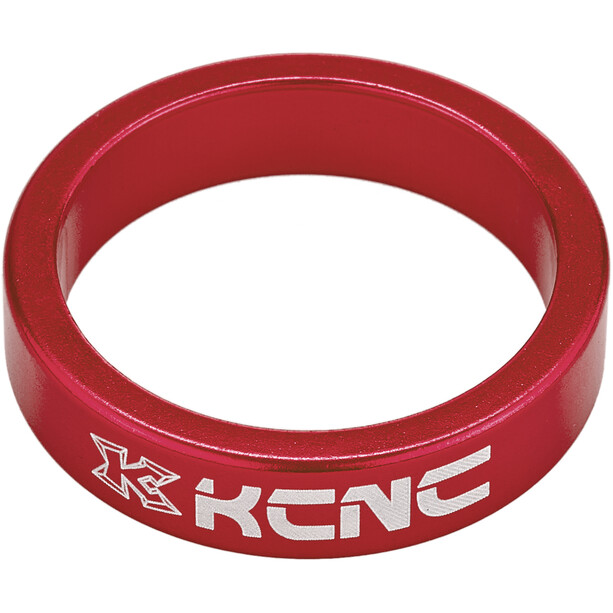 "KCNC Headset Spacer 1 1/8"" 8mm red"