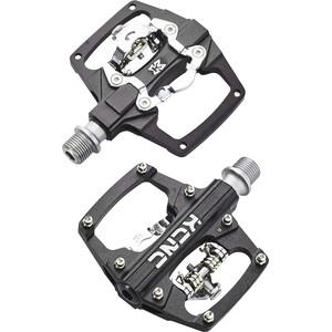 KCNC AM Trap Klickpedale Dual Side black black