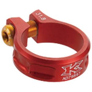 KCNC MTB Sattelklemme Ø31,8mm rot rot