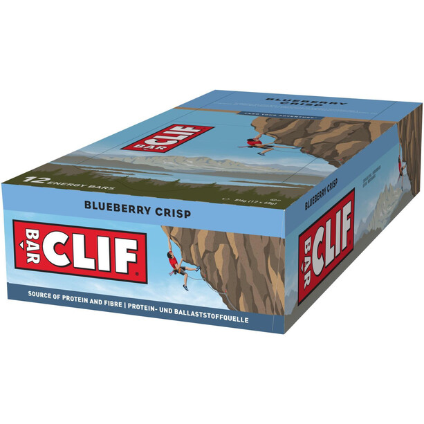 CLIF Bar Energy Bar Box 12x68g Blueberry Crisp