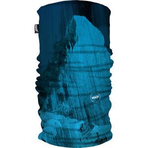 HAD Printed Fleece Ceinture chaude, bleu/turquoise bleu/turquoise