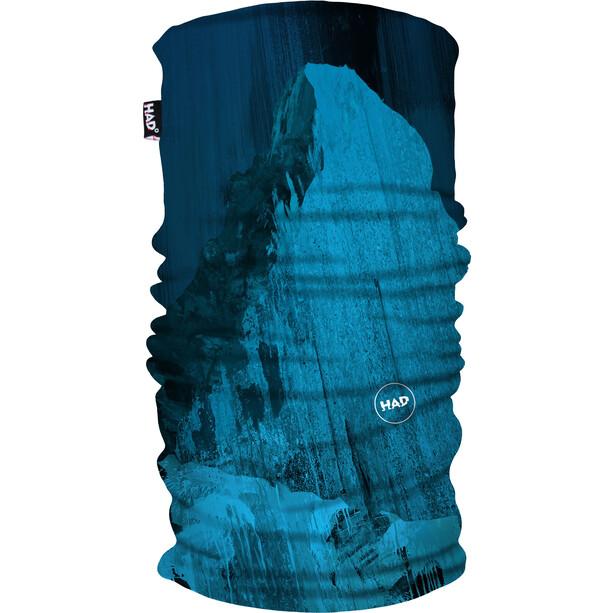 HAD Printed Fleece Ceinture chaude, matterhorn blue