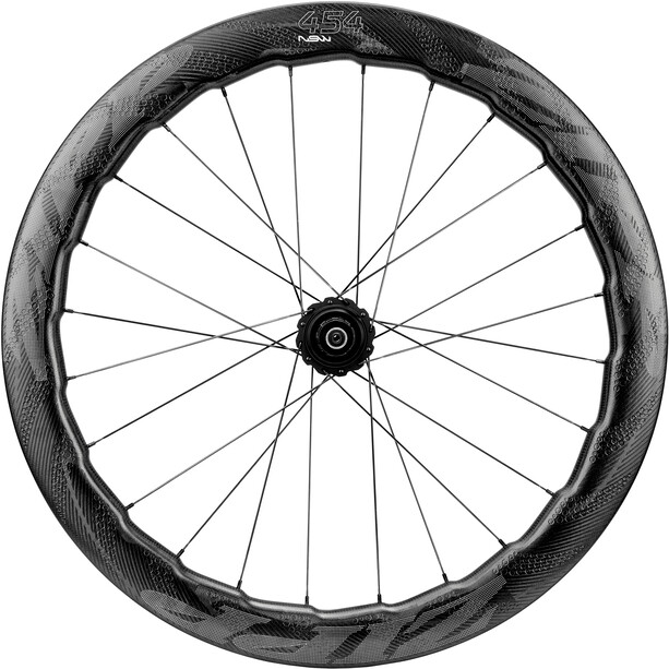 Zipp 454 NSW Disc Takapyörä Hiili Clincher Lukkorengas SRAM / Shimano, black