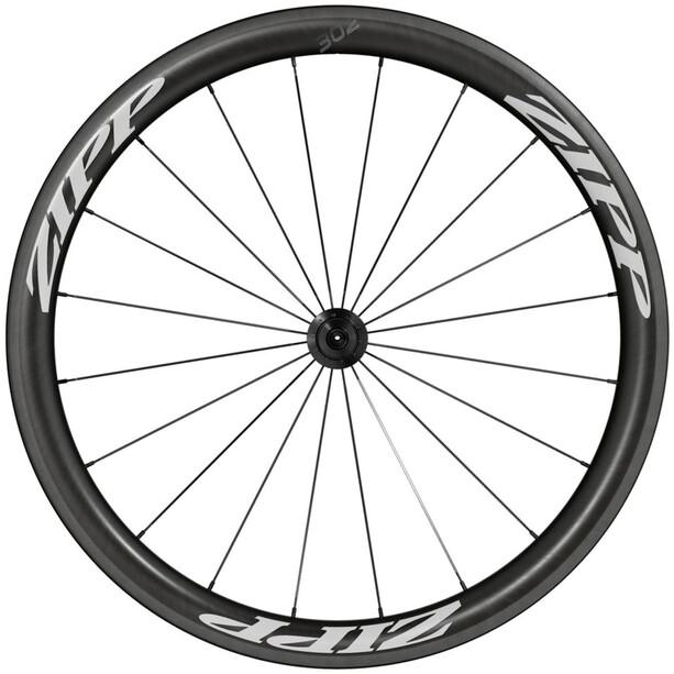 Zipp 302 Carbon Front Wheel Clincher black