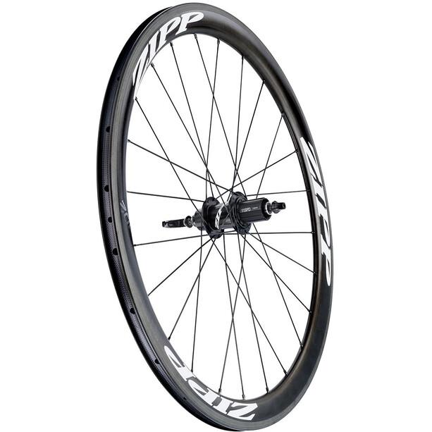 Zipp 302 Carbon Hinterrad Clincher SRAM/Shimano schwarz