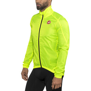 Castelli Squadra Jacket Herre yellow fluo yellow fluo