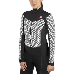 Castelli Sfida Full-Zip Trikot Damen white/black white/black