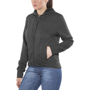 Prana Ari Zip Up Fleecejacke Damen black black
