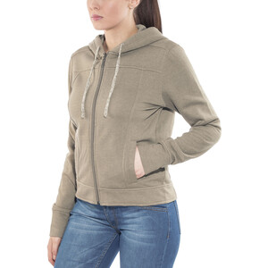 Prana Ari Zip Up Fleecejacke Damen earth grey earth grey