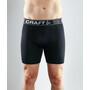 """Craft Greatness 6"""" Boxershorts Herren black/white"""