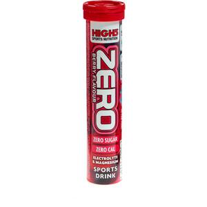 High5 Electrolyt Sports Drink Zero Tabs 20 Stück Rote Früchte