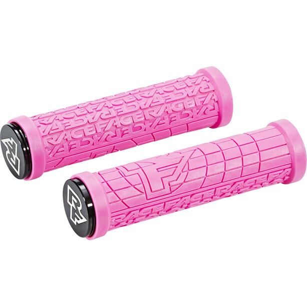 Race Face Grippler Lock-On Grips pink