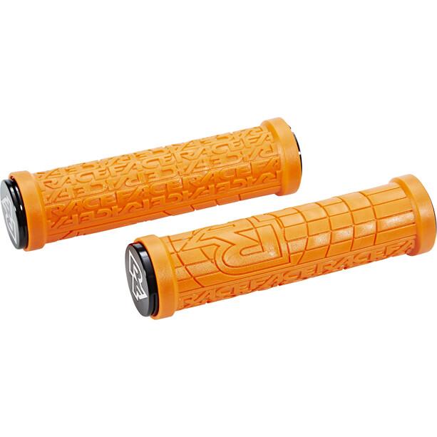 Race Face Grippler Lock-On Grips orange