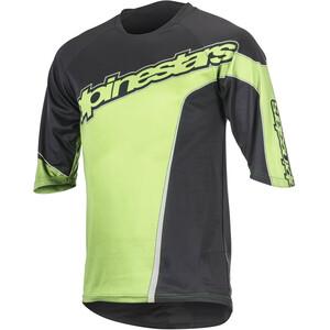 Alpinestars Crest 3/4 Trikot Herren black bright green black bright green